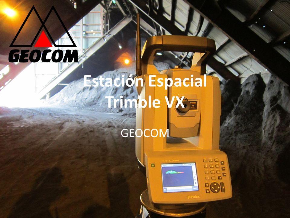 Estación Espacial Trimble VX GEOCOM
