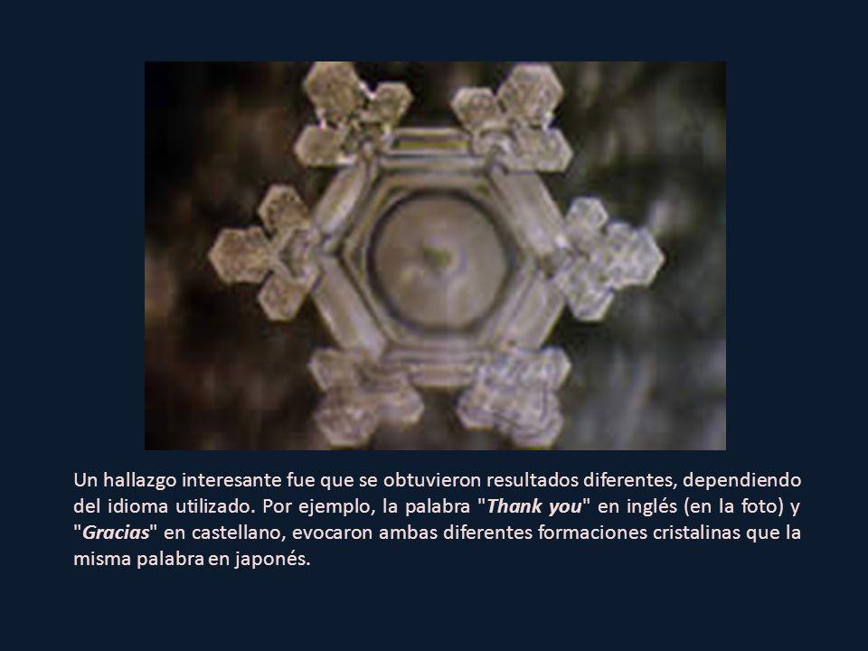 Ángel Demonio La palabra Alma Observad la forma de corazón en el centro del cristal.