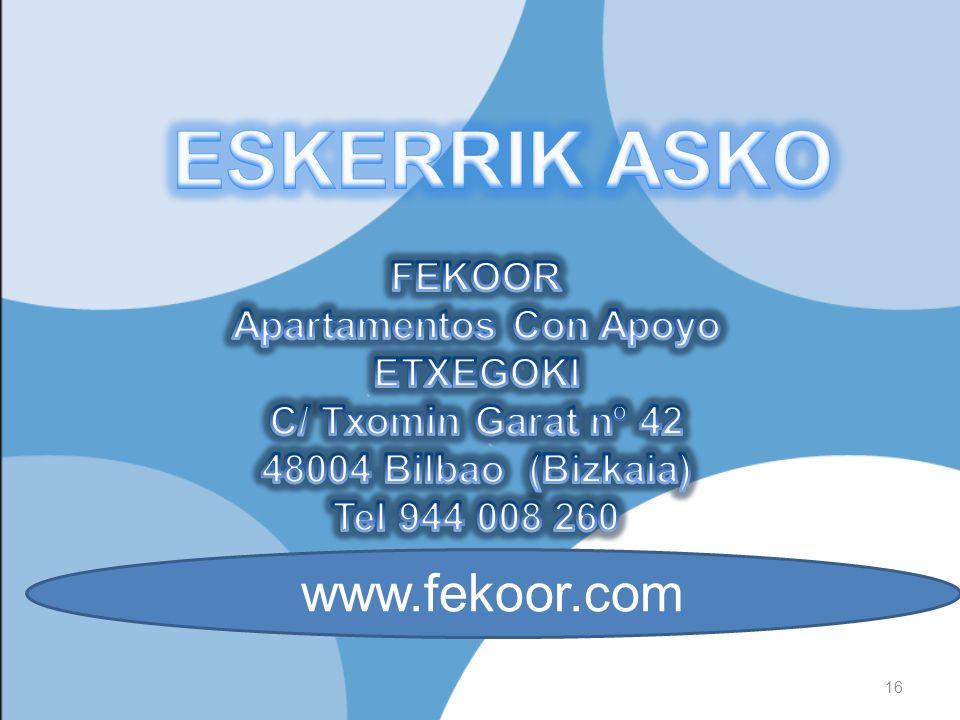 16 www.fekoor.com