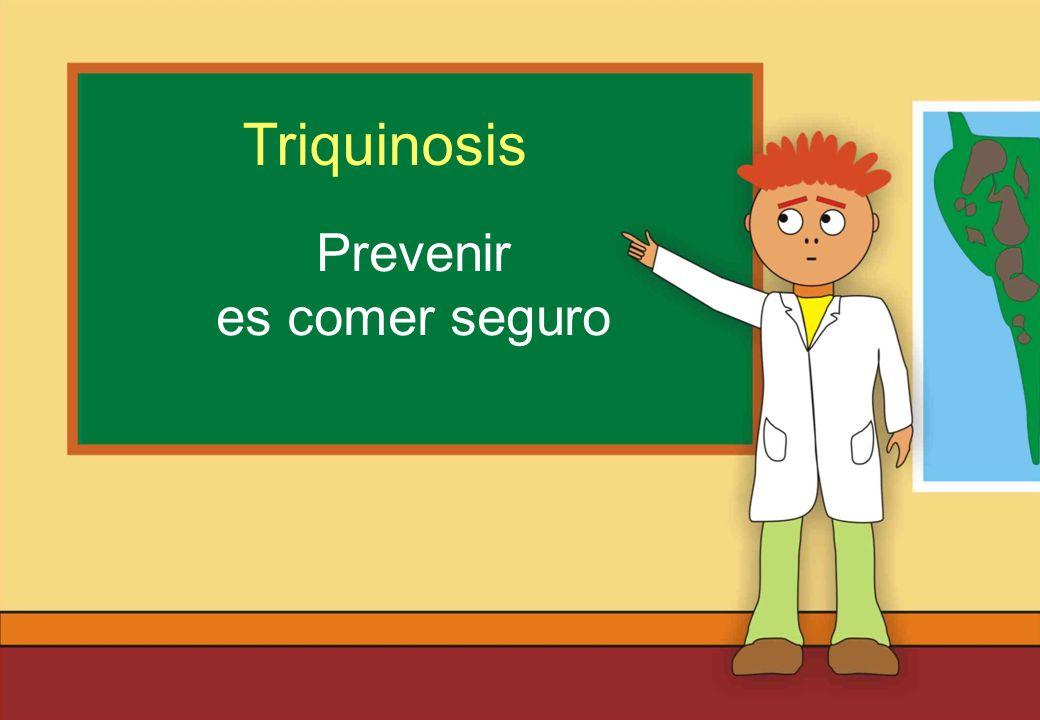 Realizado por Ricardo Bruno – Marzo de 2010 Prevenir es comer seguro Triquinosis