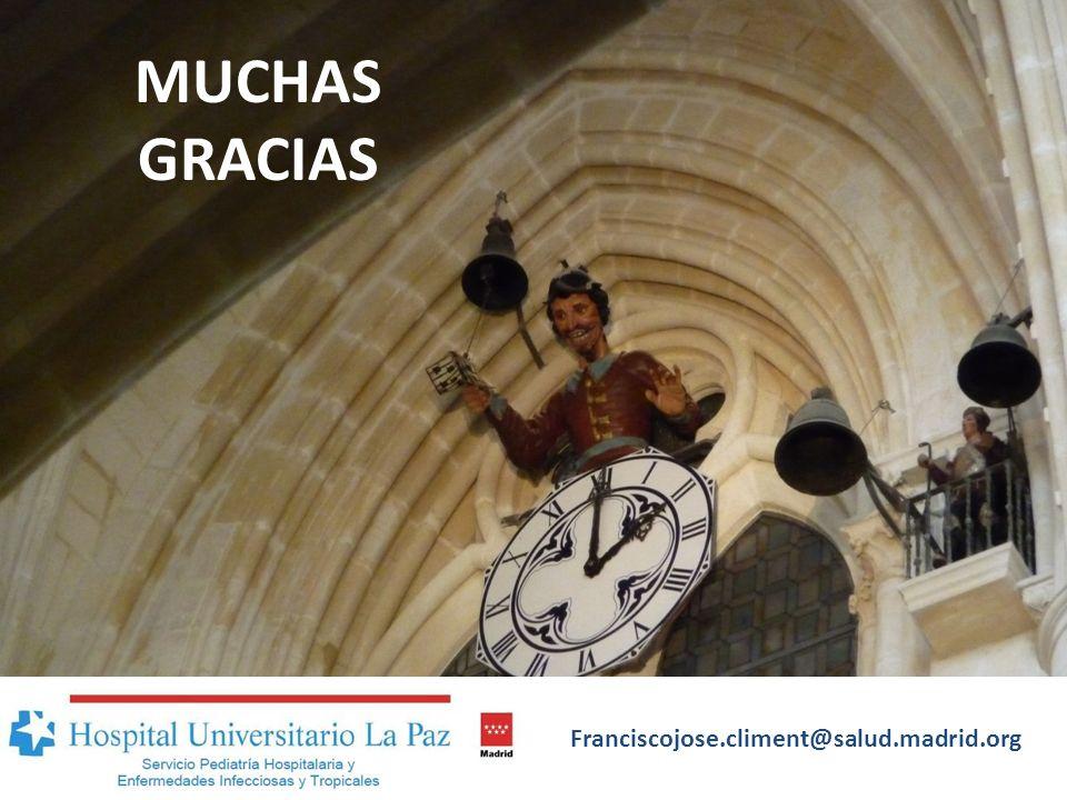 MUCHAS GRACIAS Franciscojose.climent@salud.madrid.org