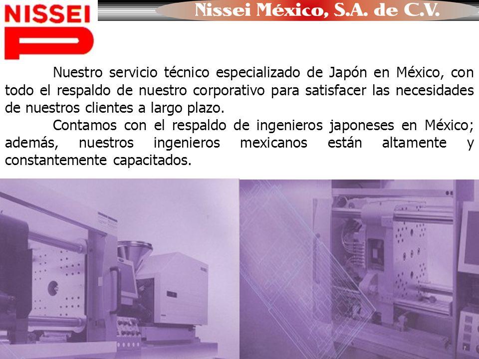 NISSEI MÉXICO, S.A.DE C.V. Sucursal Monterrey Dirección: Enrique C.