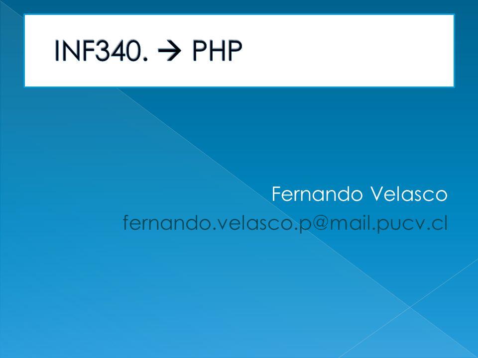 Fernando Velasco fernando.velasco.p@mail.pucv.cl