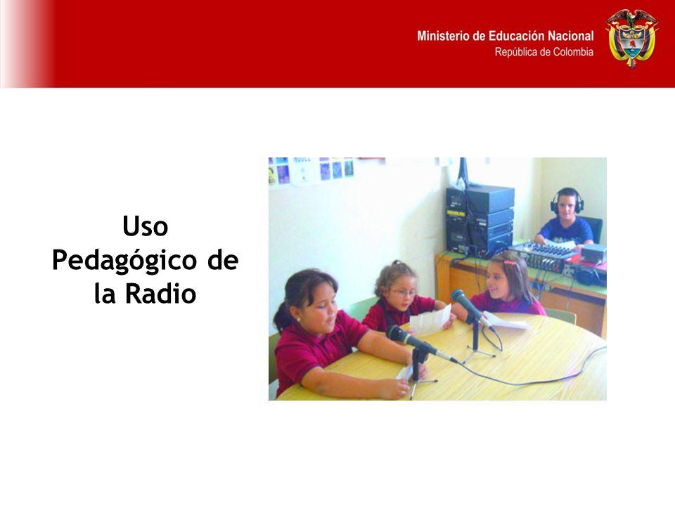 Uso Pedagógico de la Radio