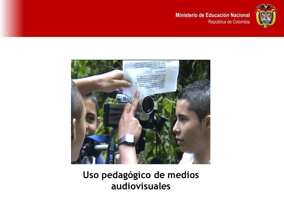 Uso pedagógico de medios audiovisuales
