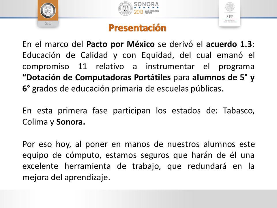En el marco del Pacto por México se derivó el acuerdo 1.3: Educación de Calidad y con Equidad, del cual emanó el compromiso 11 relativo a instrumentar
