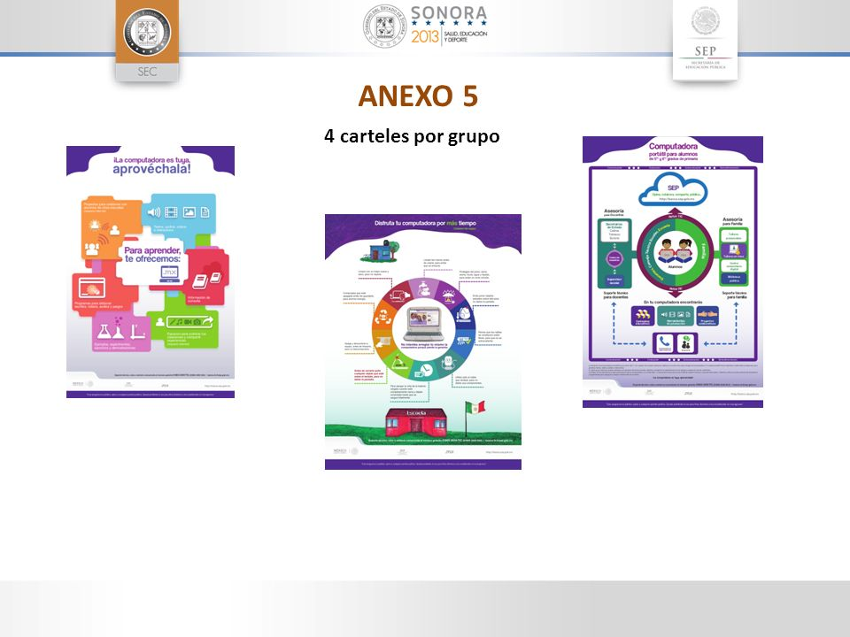 ANEXO 5 4 carteles por grupo