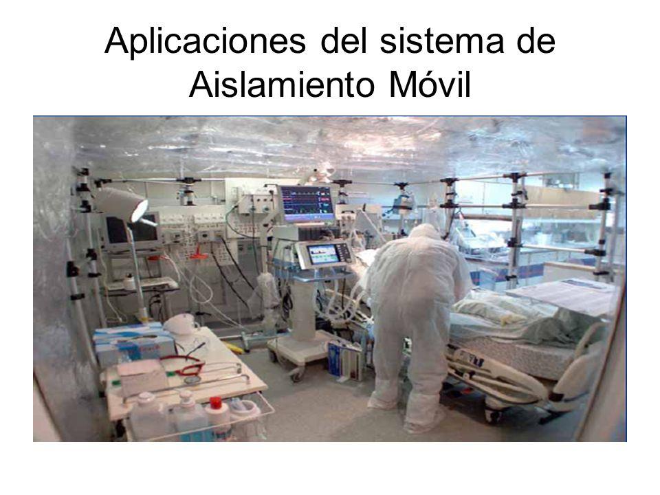 Aplicaciones del sistema de Aislamiento Móvil