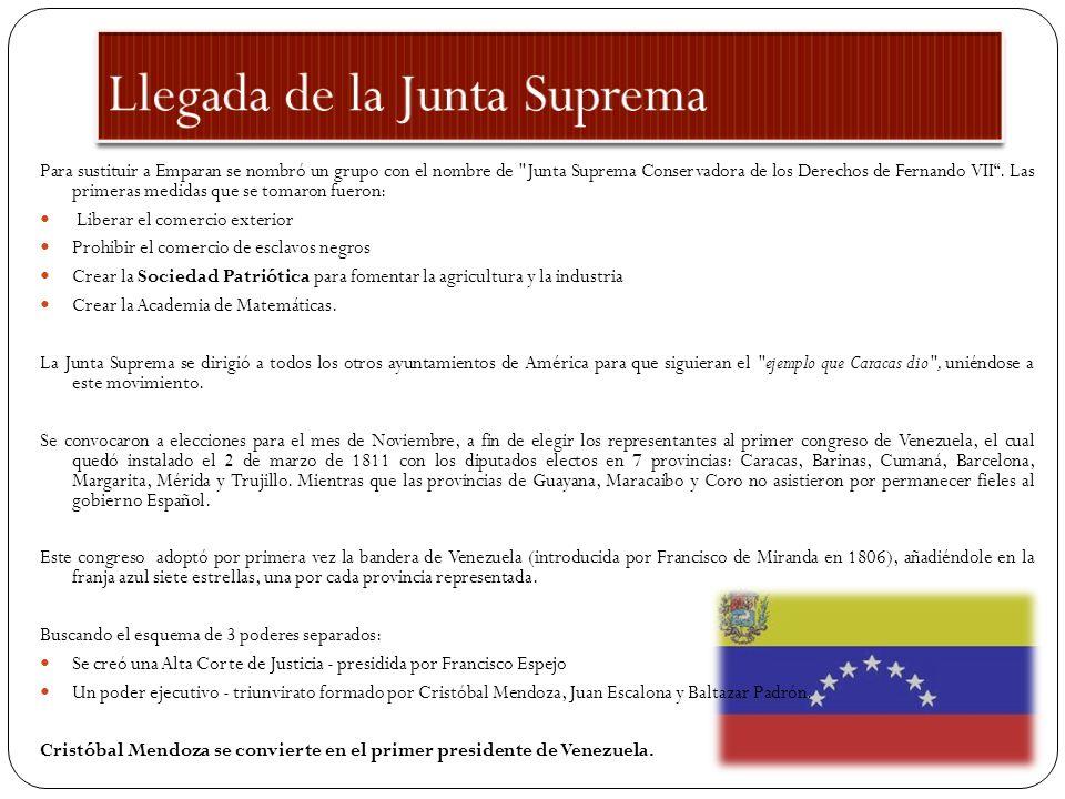 El 5 de Julio de 1811 los miembros de la Sociedad Patriótica convencieron a todos los congresantes (menos uno), de declarar la independencia de Venezuela.