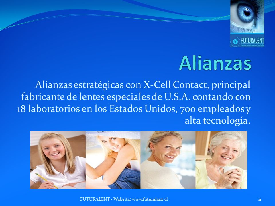 Alianzas estratégicas con X-Cell Contact, principal fabricante de lentes especiales de U.S.A.