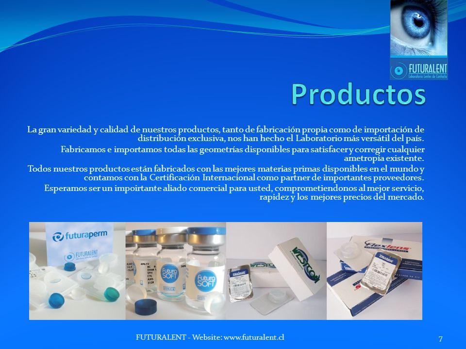 La gran variedad y calidad de nuestros productos, tanto de fabricación propia como de importación de distribución exclusiva, nos han hecho el Laboratorio más versátil del país.