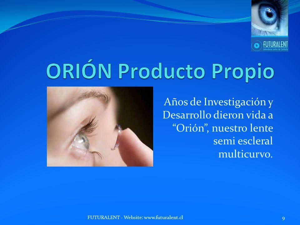 Años de Investigación y Desarrollo dieron vida a Orión, nuestro lente semi escleral multicurvo.