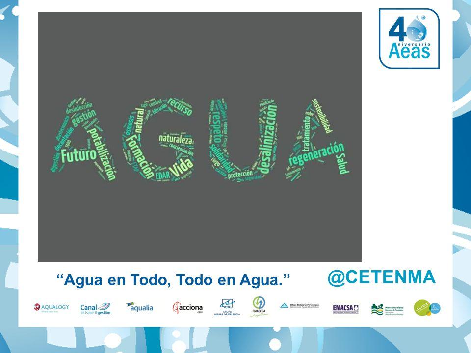 Agua en Todo, Todo en Agua. @CETENMA