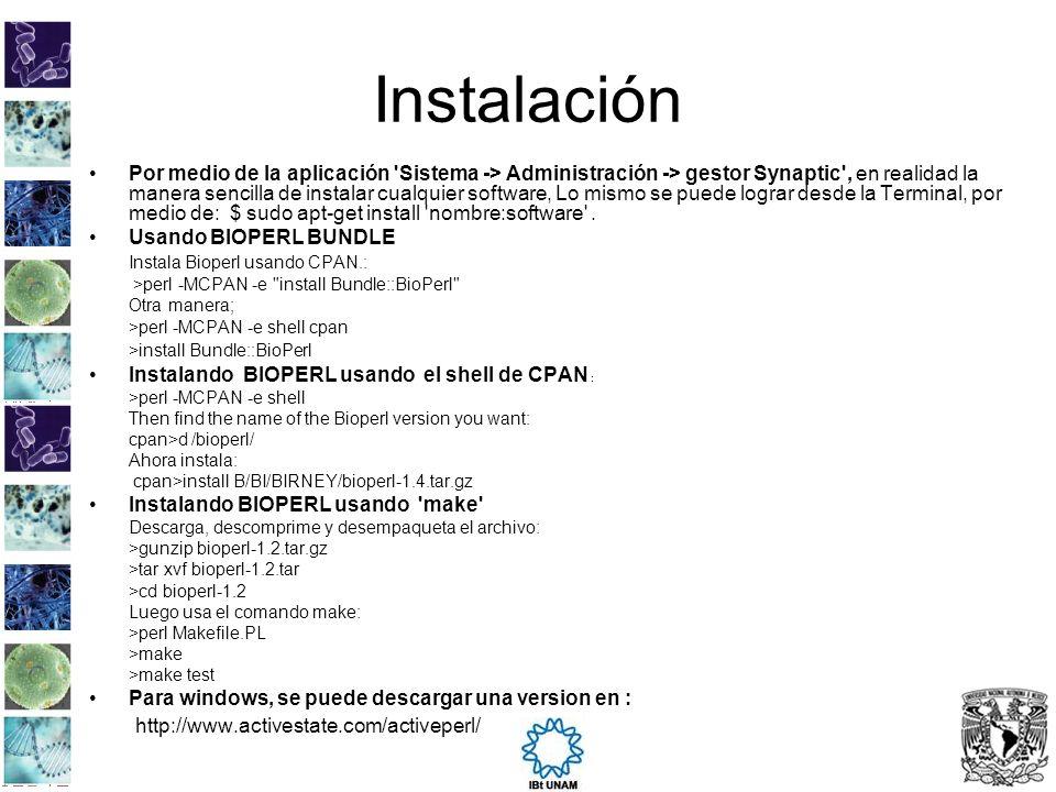 Instalación Por medio de la aplicación 'Sistema -> Administración -> gestor Synaptic', en realidad la manera sencilla de instalar cualquier software,