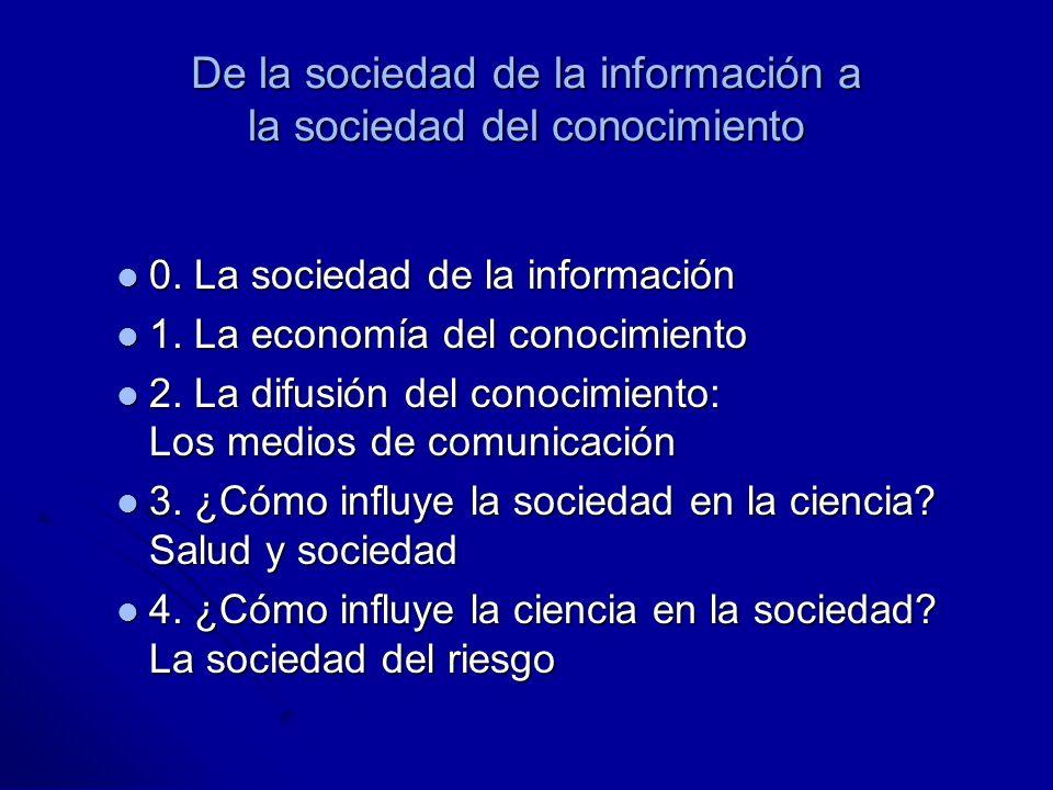 De la sociedad de la información a la sociedad del conocimiento 0.