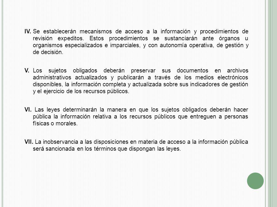 R EGULACIÓN EN EL Á MBITO F EDERAL 1.