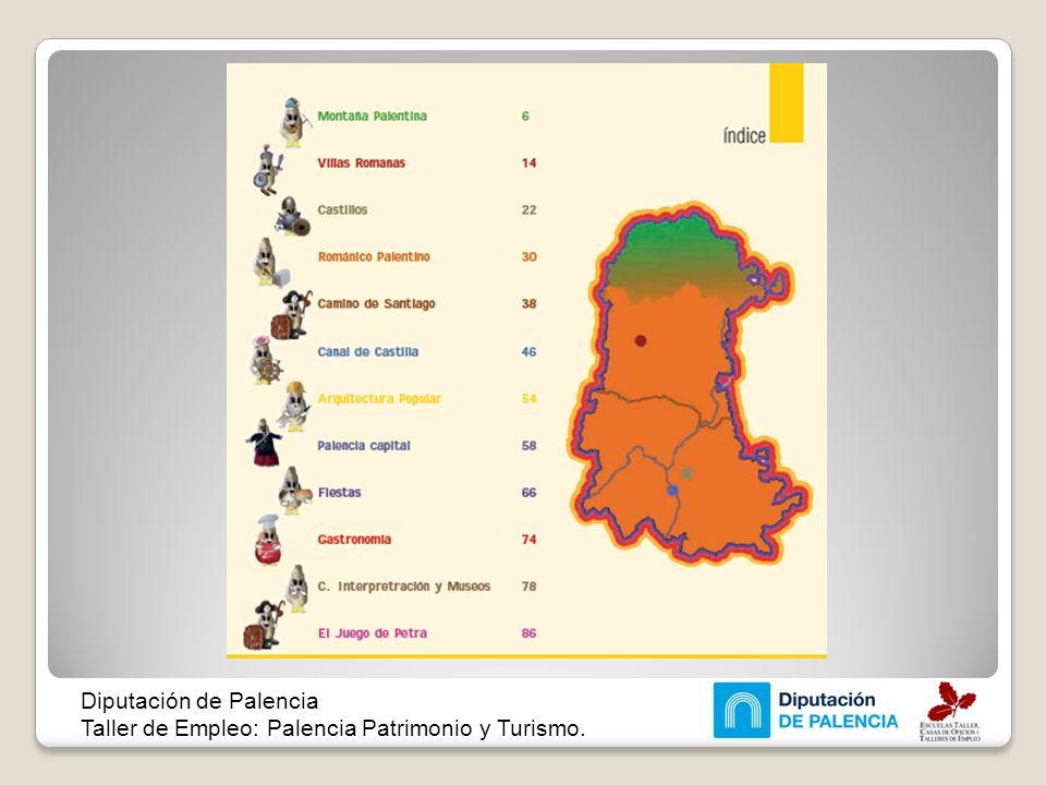 Diputación de Palencia Taller de Empleo: Palencia Patrimonio y Turismo.