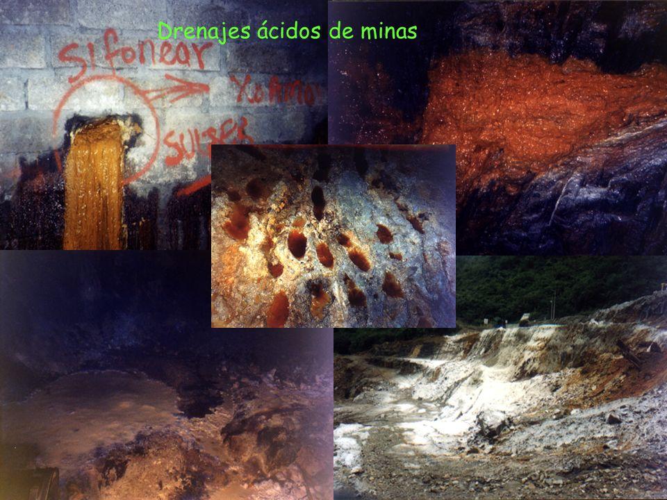 Drenajes ácidos de minas