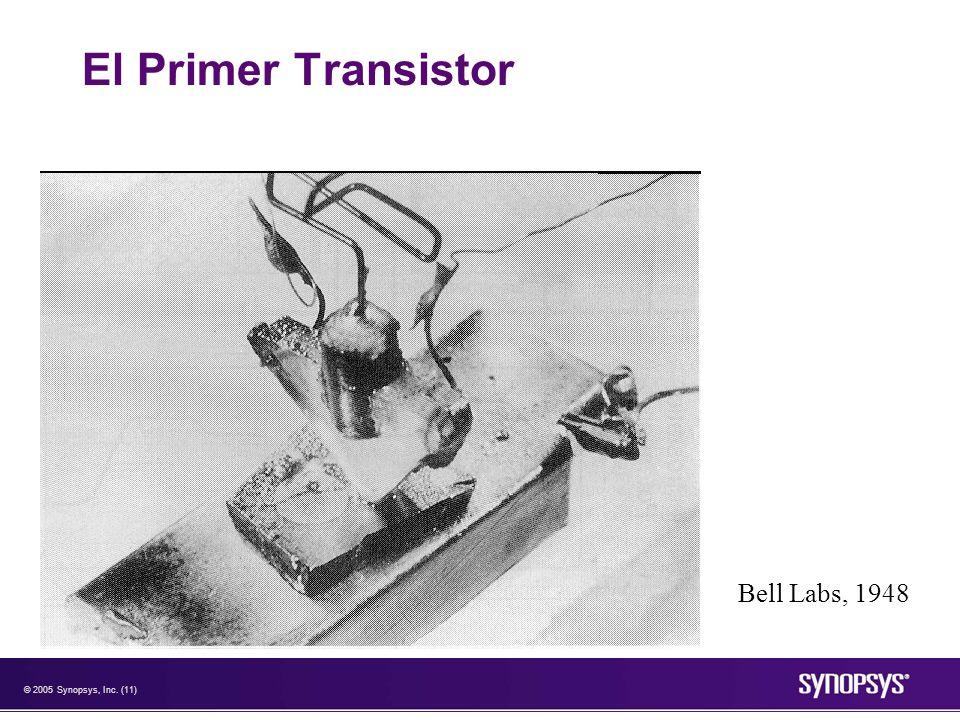 © 2005 Synopsys, Inc. (11) El Primer Transistor Bell Labs, 1948