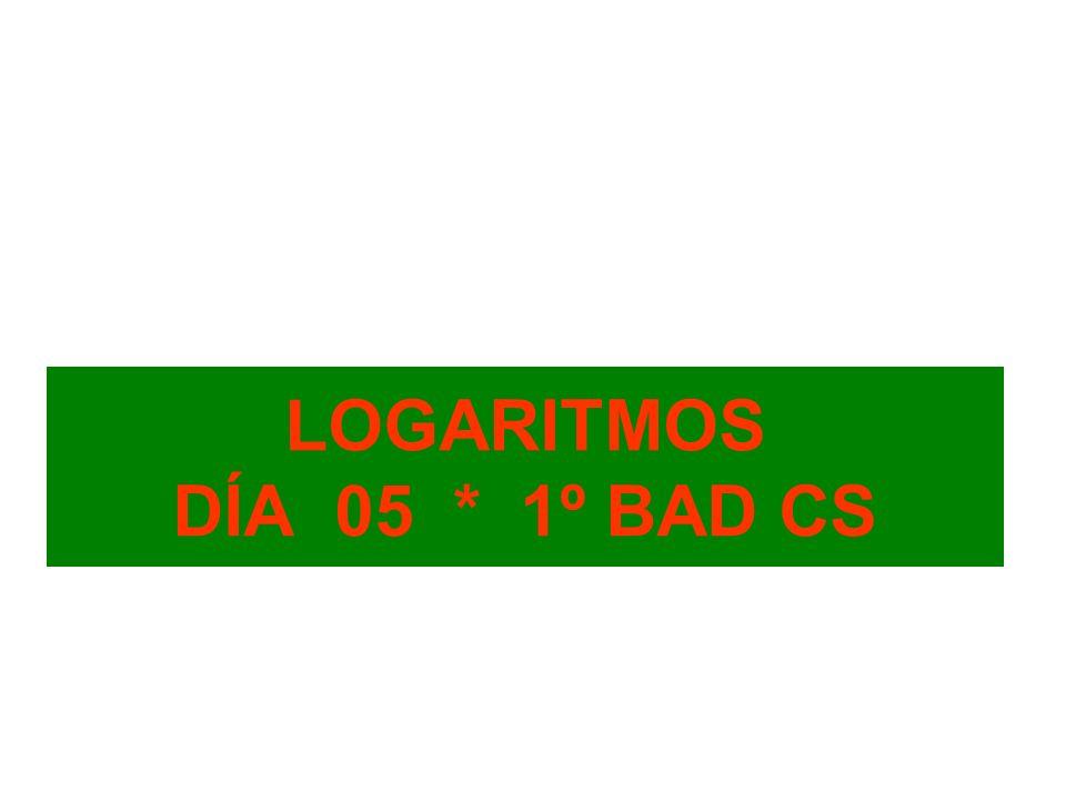 Raíces y logaritmos La potenciación tiene dos operaciones inversas: n a = bRaíz n-sima.