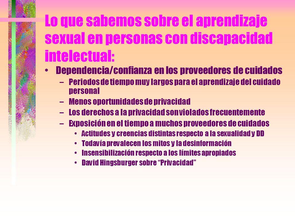 Modelos para reflexionar sobre los problemas sexuales....