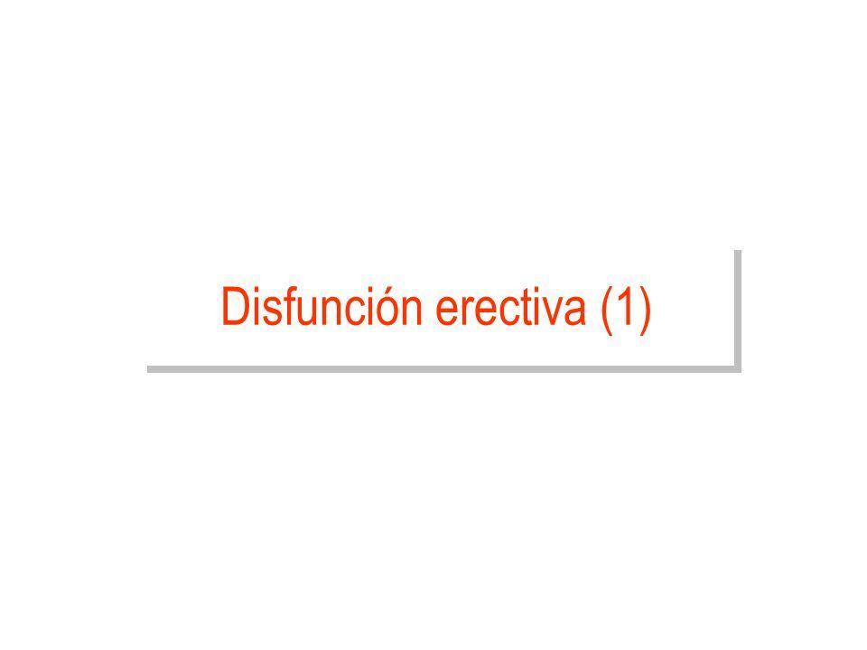 Disfunción erectiva (1)