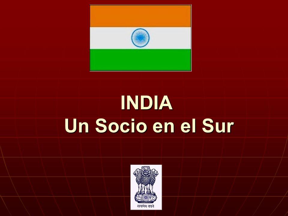 INDIA Un Socio en el Sur