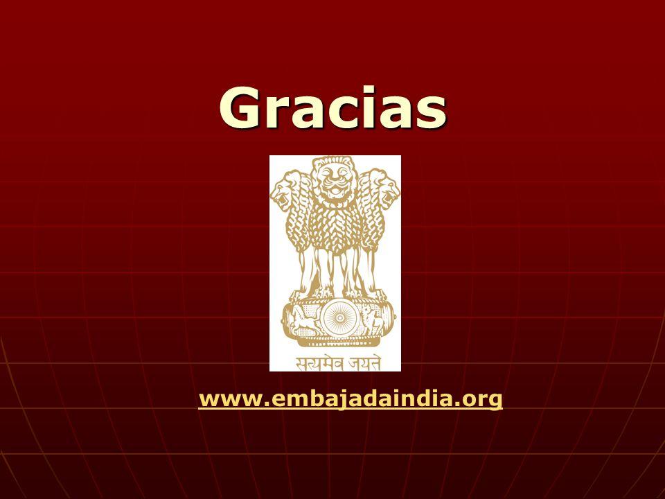 Gracias www.embajadaindia.org