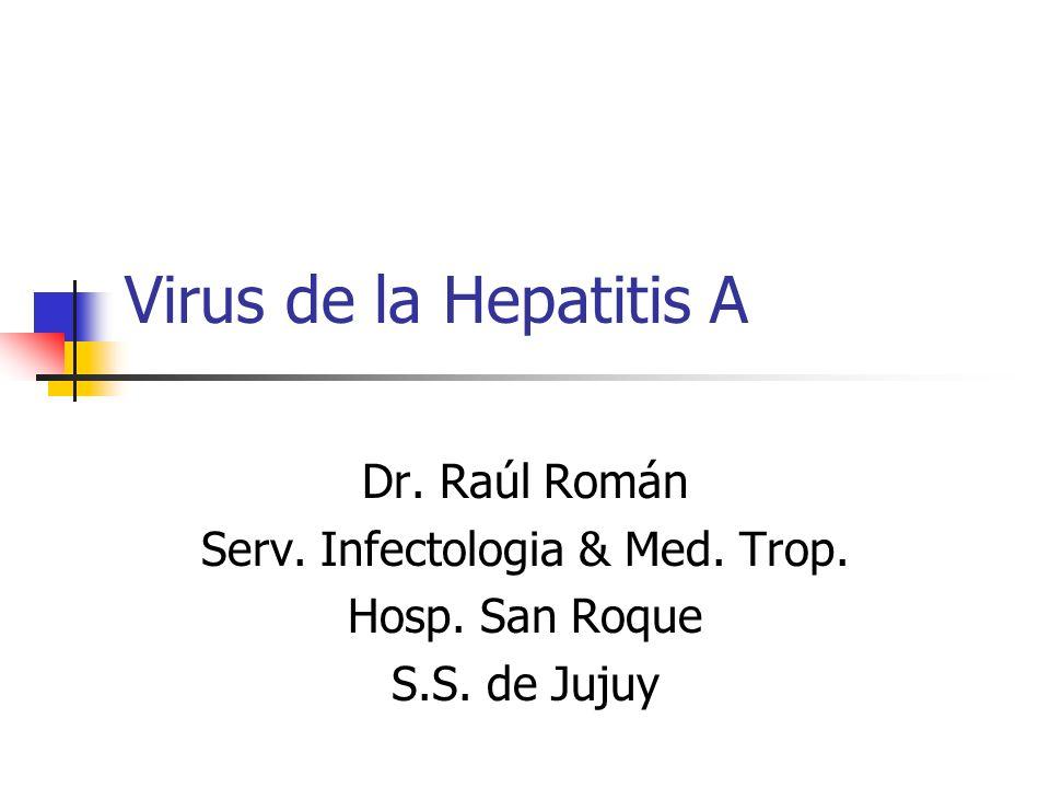 Definición Es una infección aguda, en ocasiones asintomático que produce inflamación y necrosis hepática en forma autolimitada, que nunca evoluciona hacia la cronicidad y es producido un virus de la familia Picornaviridae.
