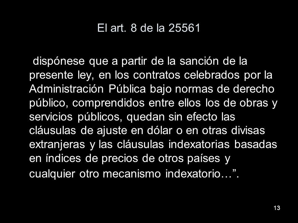 13 El art.