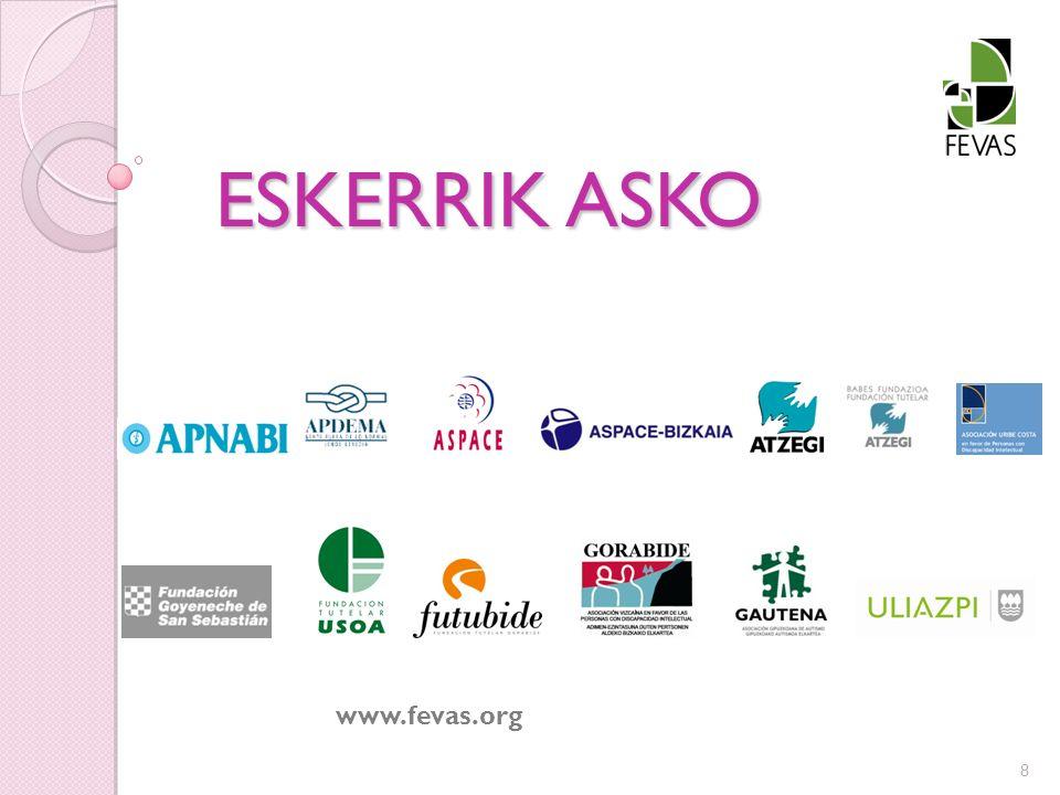 ESKERRIK ASKO www.fevas.org 8