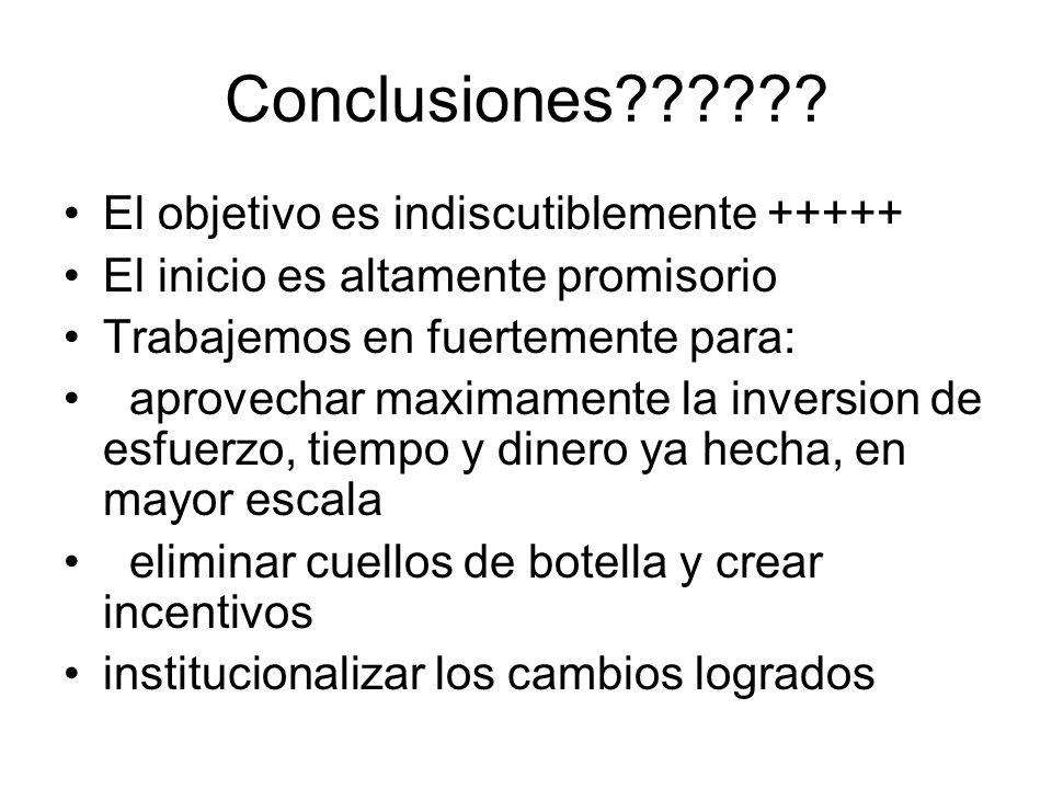 Conclusiones .