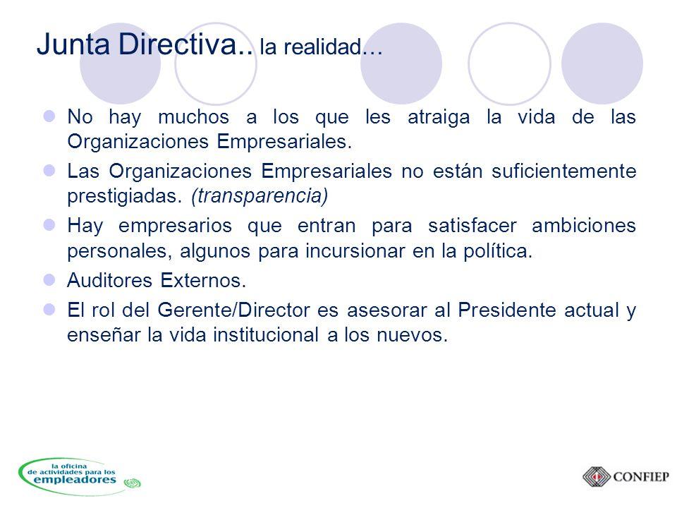 Junta Directiva..