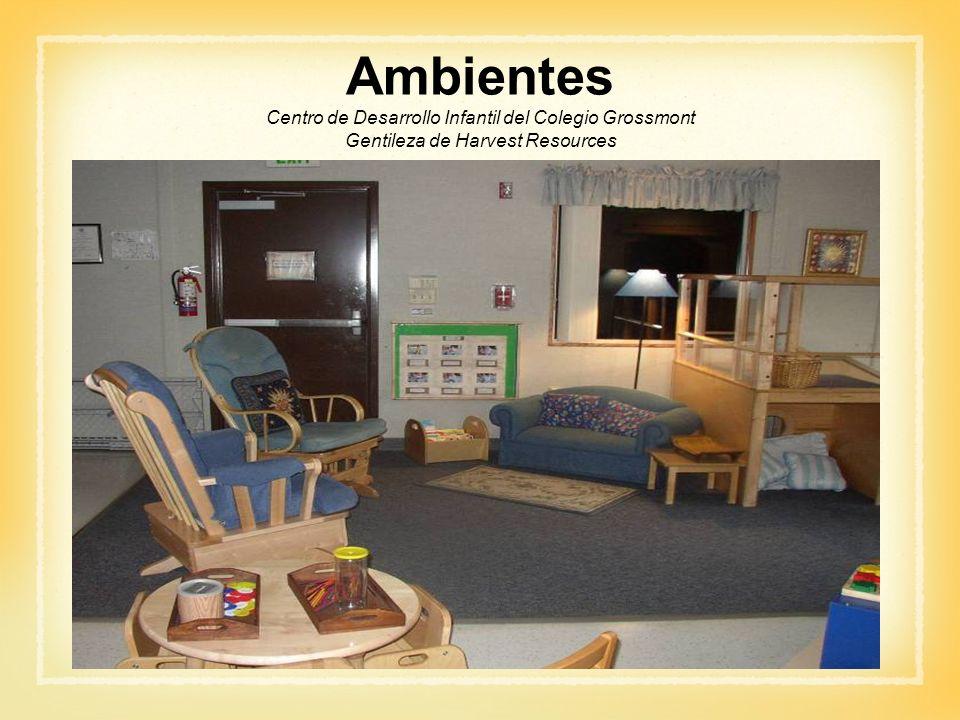 Ambientes Centro de Desarrollo Infantil del Colegio Grossmont Gentileza de Harvest Resources