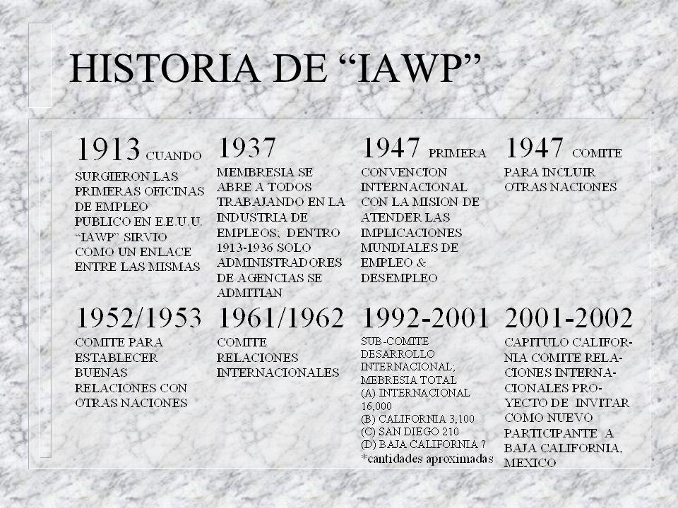HISTORIA DE IAWP