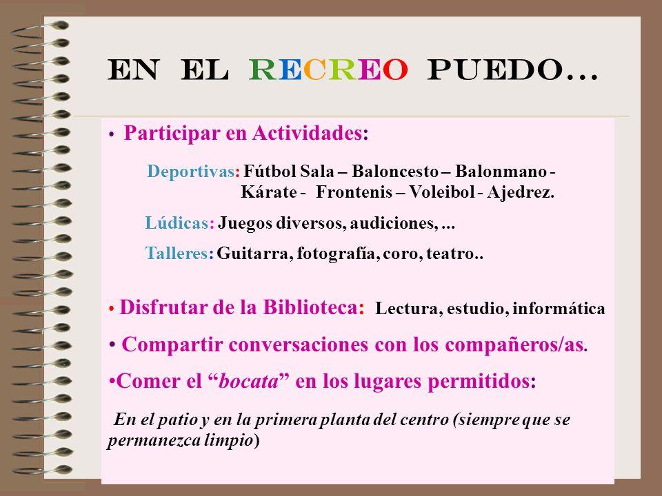 MIS DERECHOS (Decreto 51/2.007 – 17 mayo) Derecho a una formación integral.