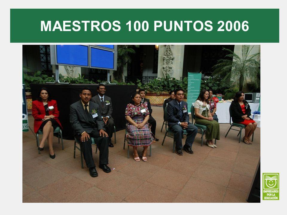 MAESTROS 100 PUNTOS 2006