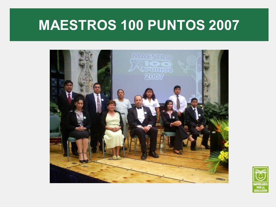 MAESTROS 100 PUNTOS 2007