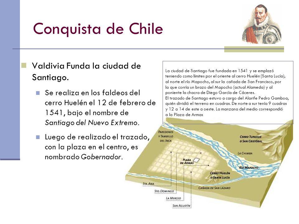 Conquista de Chile Los primeros años fueron muy difíciles Les costó mucho encontrar oro o plata.