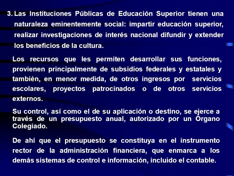 2.Las Instituciones Públicas de Educación Superior, autónomas por Ley, son entes autónomos, con personalidad jurídica propia, descentralizadas de la F