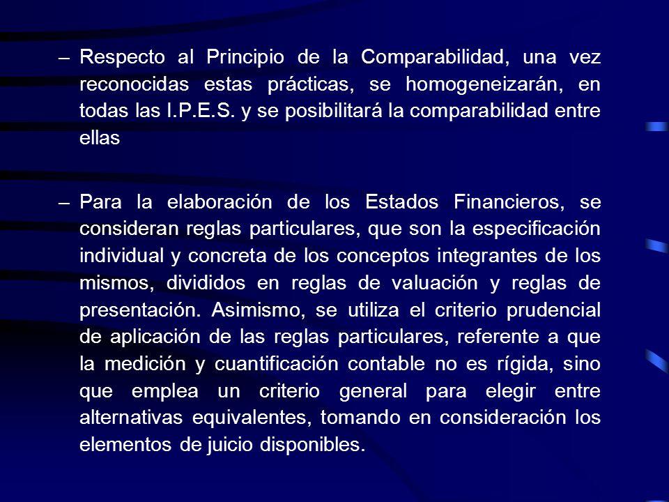 14.-Las Instituciones Públicas de Educación Superior han preparado sus Estados Financieros, observando los Principios de Contabilidad Generalmente Ace