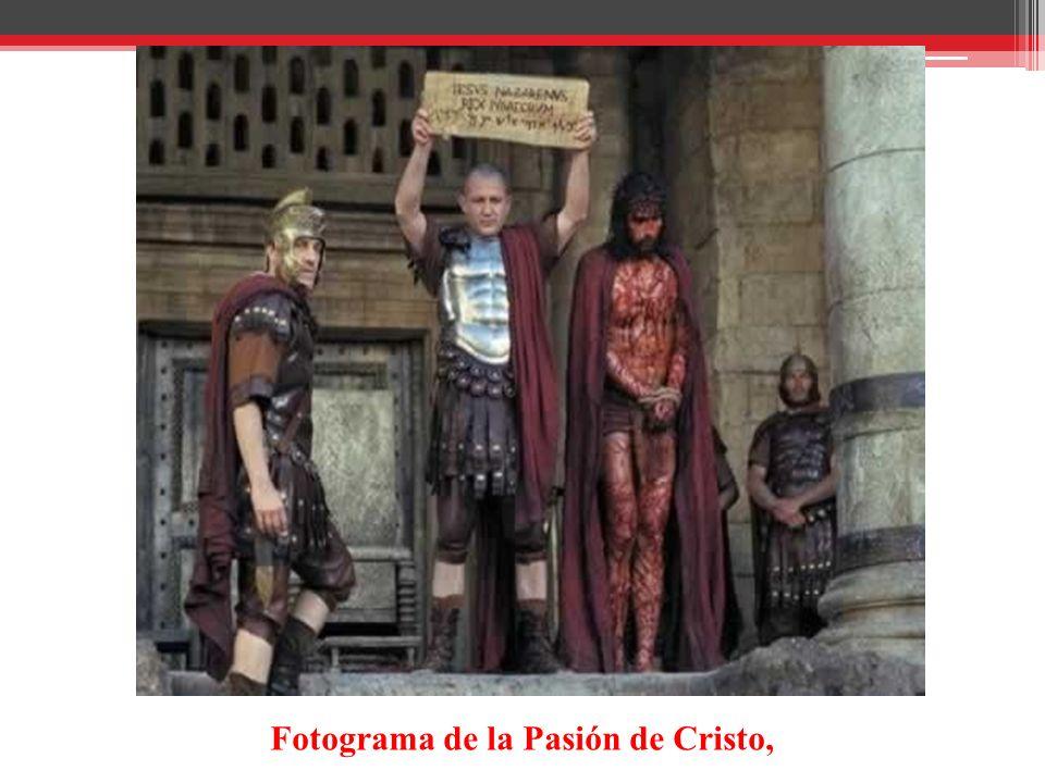 Fotograma de la Pasión de Cristo,