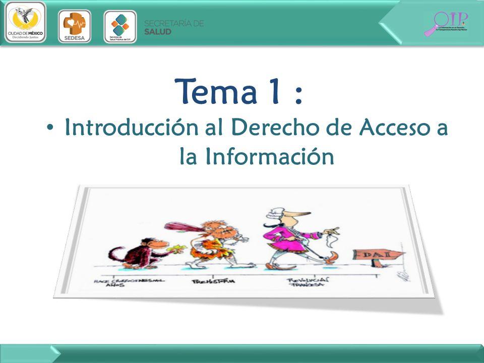 Tema 2: Disposiciones de carácter general