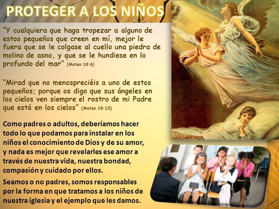 Y le presentaban niños para que los tocase; y los discípulos reprendían a los que los presentaban.
