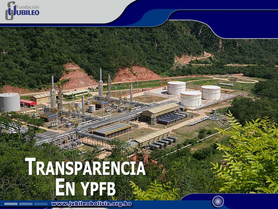 N UEVO R OL DE YPFB En 60 días, se procederá a la reestructuración integral de YPFB convirtiéndola en una empresa corporativa, transparente, eficiente y con control social.