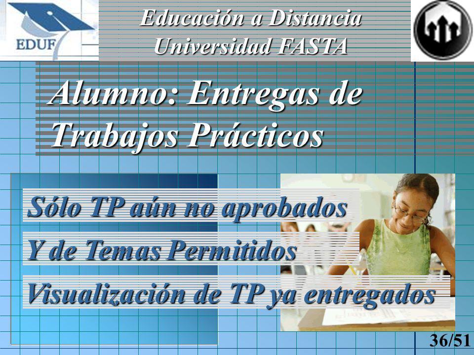 Educación a Distancia Universidad FASTA 35/51 Recreo Interacción con otras carreras Chat