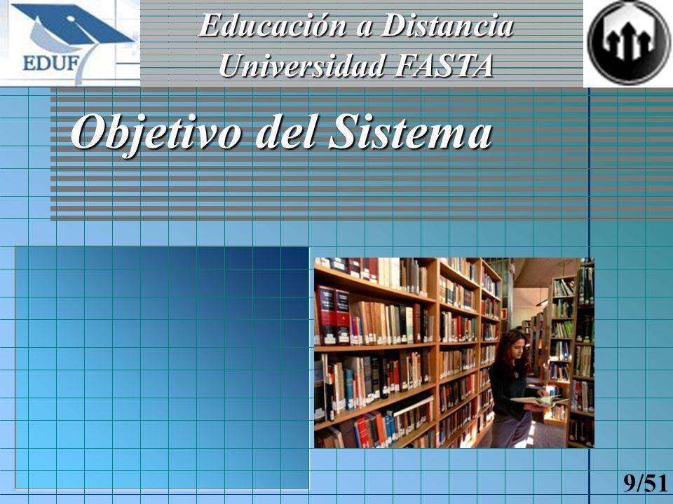 Educación a Distancia Universidad FASTA 8/51 Introducción