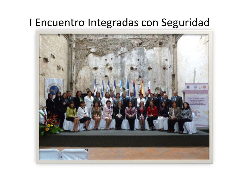 I Encuentro Integradas con Seguridad