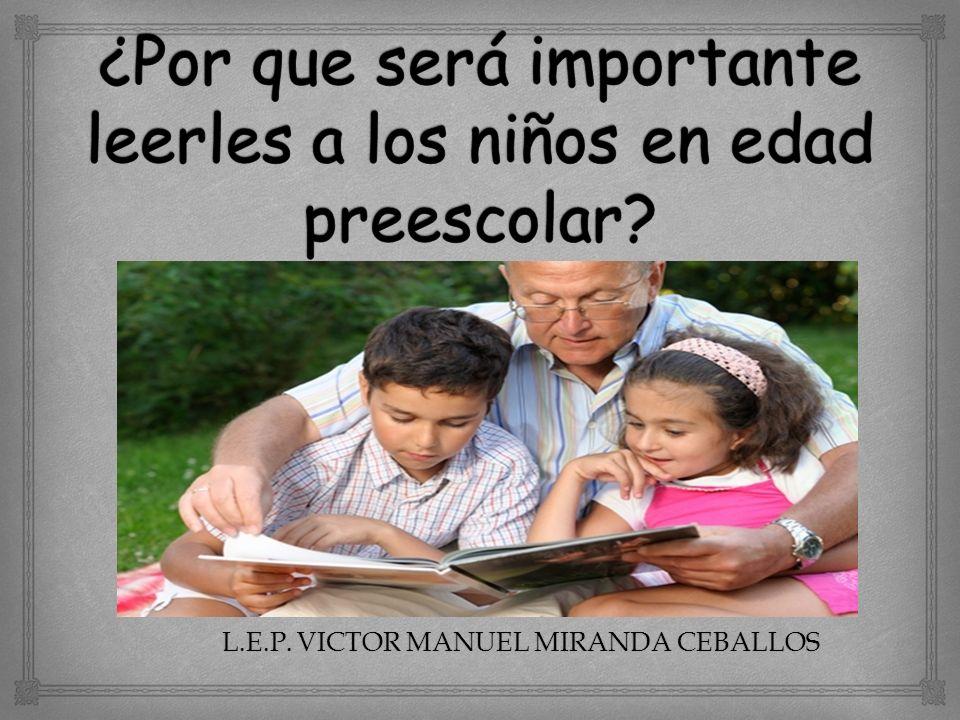 L.E.P. VICTOR MANUEL MIRANDA CEBALLOS
