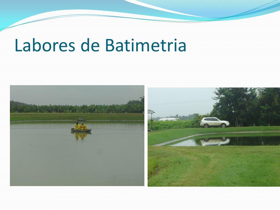 Labores de Batimetria